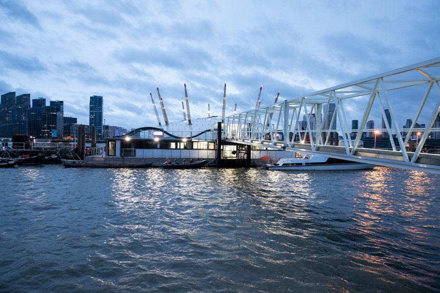 Thames Clipper Docking Station